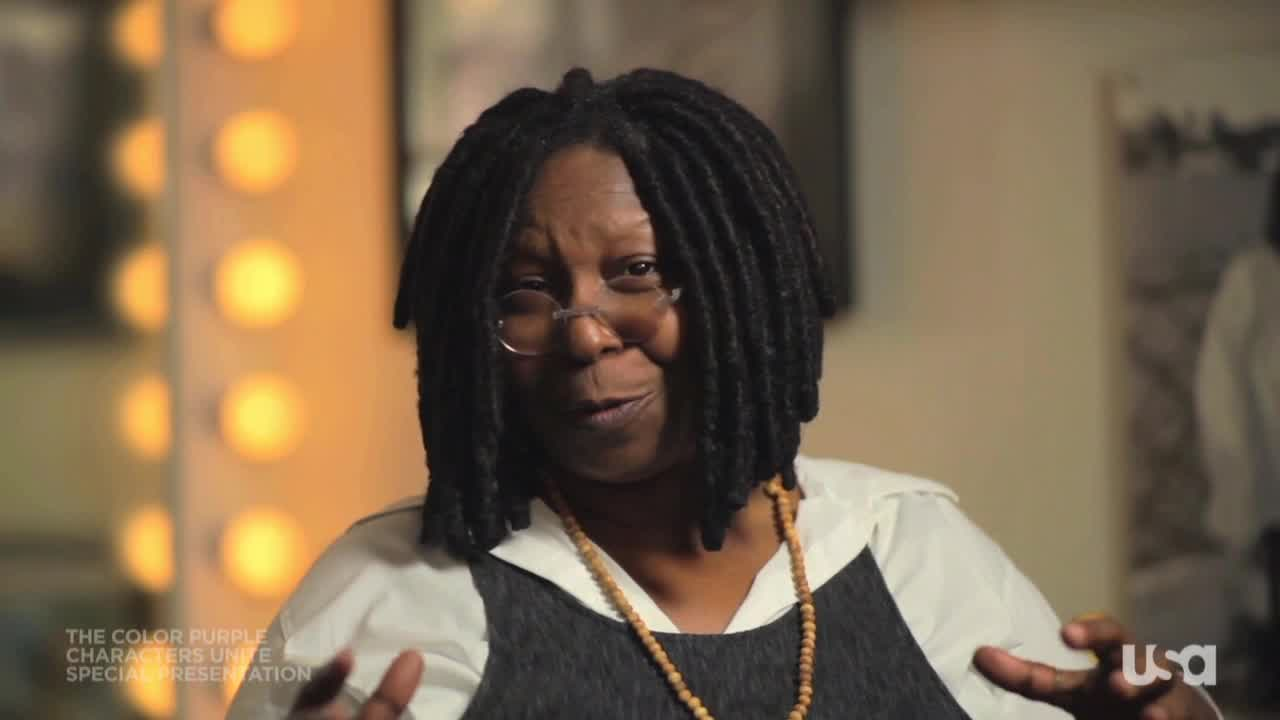 Characters Unite: Whoopi Goldberg Introduces The Color Purple