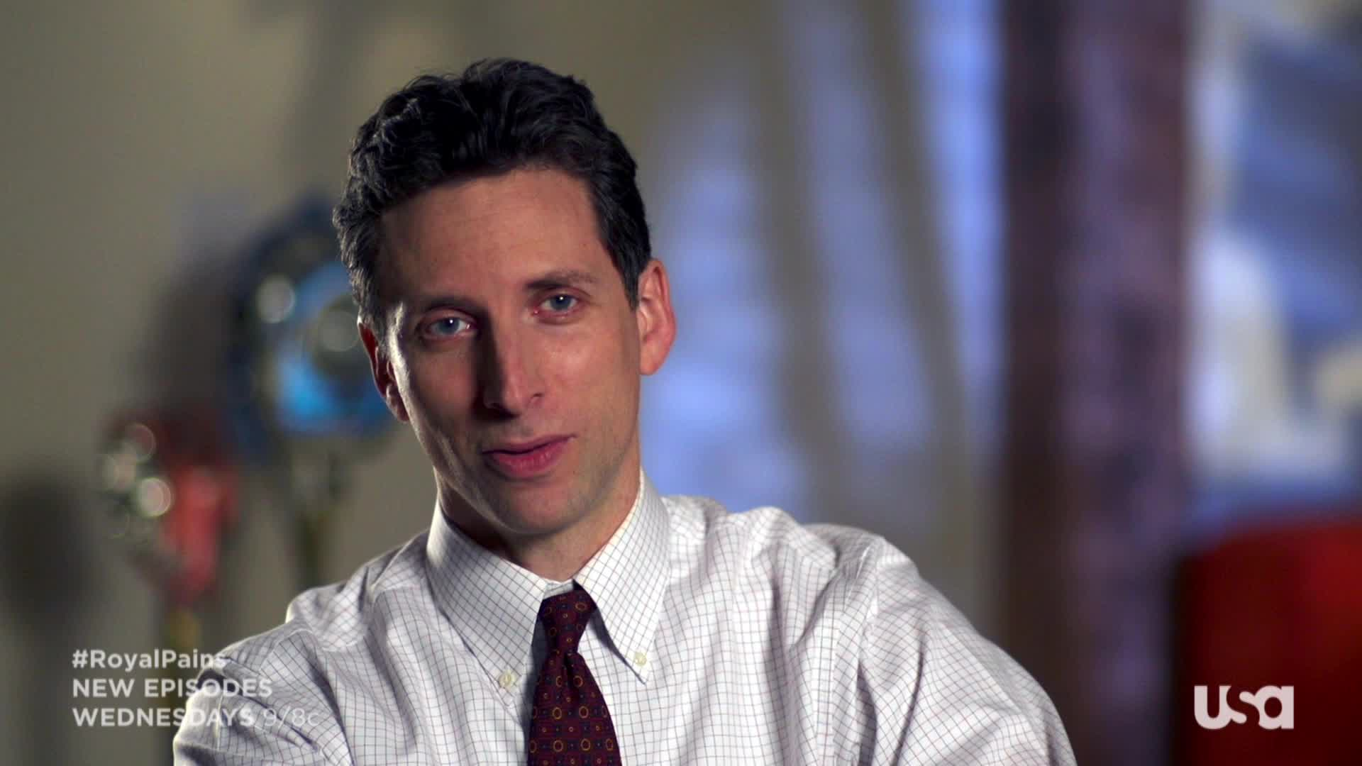 Royal Pains: Interview: Ben Shenkman