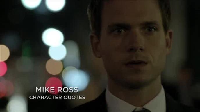 Suits: Mike's Quotes